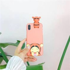 3D cartoon Mickey Minnie toys phone Cases For iphone X 6 6s 6plus 7 7Plus 8 8Plus soft silicon case