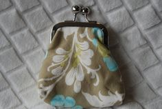 Coin Clutch Purse by BeeBlessed on Etsy, $15.00