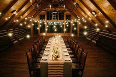 Small barn wedding