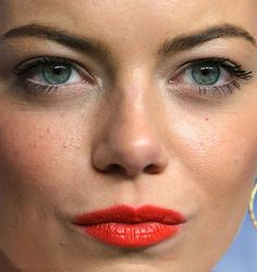 Image result for emma stone close up