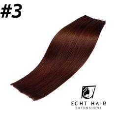 Tape in Echthaarverlängerungen Tape In Extensions, Hair Extensions, Ombre Look, Short Hair Up, Hair Makeup, Weave Hair Extensions, Extensions Hair, Extensions