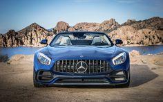 Mercedes AMG GT Roadster 2017 4K