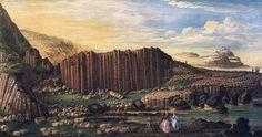 """Susanna Drury (c.1710-c.1770), Irish landscape painter whose work included views of the Giant's Causeway"