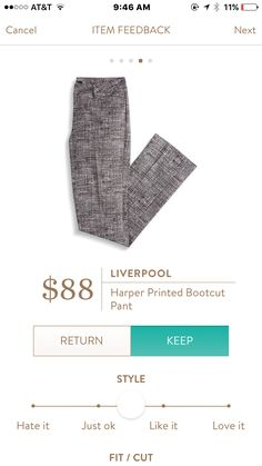Not quite black, not quite grey. Perfect for work. Sign up for Stitch Fix: https://www.stitchfix.com/referral/10974302?sod=w&som=c