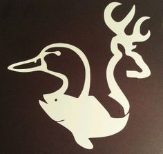 One (1) Buck Duck Fish hunting Custom Browning Choose Color and Size - Free Ship - Car Truck Vinyl Decal - MacBook Iphone Wall Cell Truck - on Etsy, $3.50