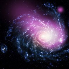 Dwarf Galaxy Caught Ramming Into a Large Spiral Galaxy (NASA, Chandra, 08/14/13) By NASA's Marshall Space Flight Center