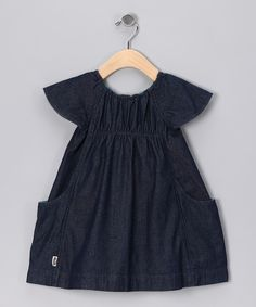 5c9b5ebfdb0b Indigo Denim Swing Me Organic Dress - Infant Baby Next