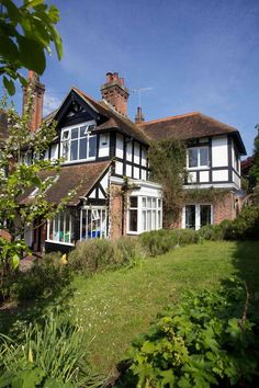 Caple Gardens: Your home-from-home in St. Leonards-on-Sea. Great Hotel, East Sussex, Skateboards, Old Houses, Home And Garden, Gardens, Cabin, Homes, Sea
