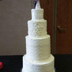 Dogbite's first wedding cake