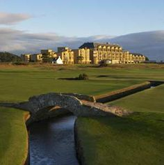 """Old Course Hotel, Golf Resort & Spa - Scotland .... have to stay here a night too!! Have a special """"mission""""!!"""
