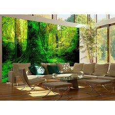 Tapete in saftigem Grün -  Ihre auffällige Wanddekoration bei artgeist.  #tapeten #tapete #wallpapers #home #decor #dekoration #wanddekoration #grün