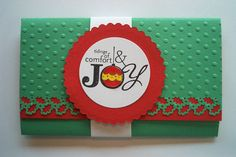 Gift Card Holder ~ Stampin Up