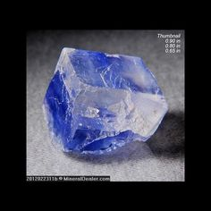 BLUE HALITE (SALT) NEW MEXICO MINERALS CRYSTALS GEM-MIN
