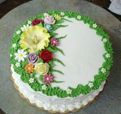 e.york.tripod.com small_cakes index.album dsc02766?i=35&s=1 Cake Decorating Designs, Creative Cake Decorating, Cake Decorating Videos, Cake Decorating Techniques, Creative Cakes, Cake Designs, Cake Cookies, Cupcake Cakes, Super Torte