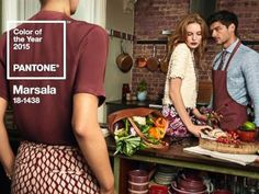 Pantone has announced its color of the year for 2015. The color is marsala, the company announced in a press release on Dec. 4, 2014.