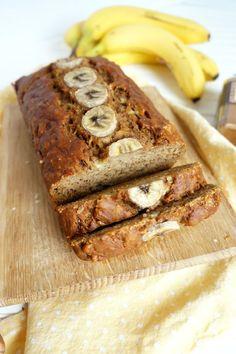 The perfect (vegan) banana bread - Vegan - Banana Recipes Vegan Dessert Recipes, Vegan Sweets, Vegan Recipes Easy, Free Recipes, Vegan Foods, Vegan Dishes, Food Trucks, Tortillas Veganas, Healthy Banana Bread