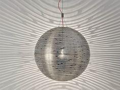 Lampada a sospensione alogena in metallo Collezione Magdalena by TERZANI   design Bruno Rainaldi