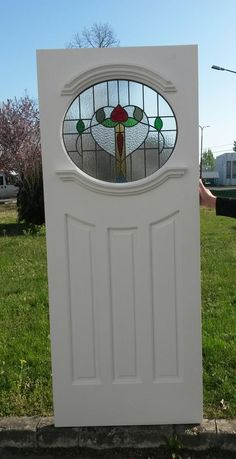 If you need it, we also make door frames with draught proofing. Stained glass heat insulation & mm glass on both sides& Now change your door& Made of pine wood, oak threshold and insulated weather bar. Front Doors With Windows, Porch Doors, Exterior Front Doors, Entrance Doors, House Front Door, Glass Front Door, Front Door Design, Front Door Colors, 1930s Doors
