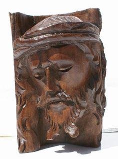 Jesus Christ drewniane rzeźbienia (wchr1)