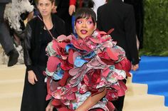 Rihanna Just Destroyed The Met Gala Red Carpet, So There You Go