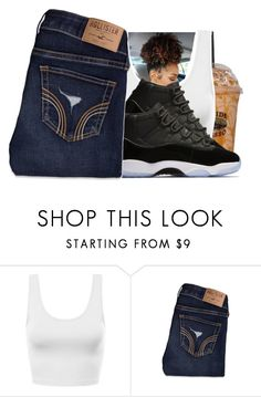 """""""Chilling.. of boredom"""" by royaltyvoka ❤ liked on Polyvore featuring Hollister Co."""