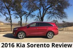 2016 Kia Sorento Review - excellent crossover SUV that offers third row seating option