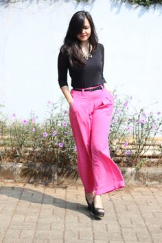 Pretty in Pink, Wicked in Black | Style.com Indonesia