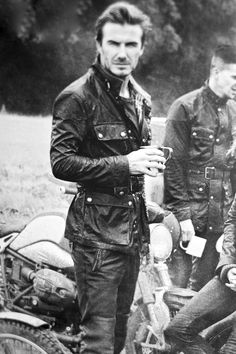 Beckham- Belstaff roadmaster jacket