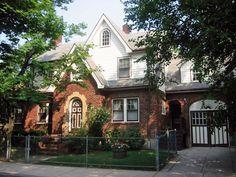 Madge Tilley's house in Jamaica Plain (Boston).
