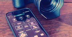 Application Android et iOS pour appareil photo Canon Nikon Panasonic Sony