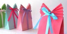 4 bolsas de papel DIY para sorprender con tus regalos