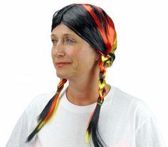 Colors of Germany Oktoberfest Wig