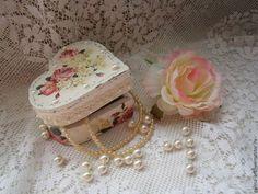 """Подарки для влюбленных ручной работы. Ярмарка Мастеров - ручная работа Шкатулка """"Нежность"""". Handmade."""