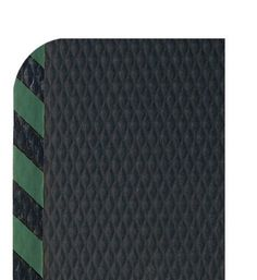 "Andersen 424 Nitrile Rubber Hog Heaven Anti-Fatigue Mat with Green Striped Border, 5' Length x 3' Width x 7/8"" Thick, For Wet/Dry Areas by Andersen. $112.46. Exceptional Anti-Fatigue matting. HogHeaven mats are constructed of solid Nitrile rubber surface with a closed-cell Nitrile/PVC cushion backing. This surface offers better chemical resistance along with textured surface for superior slip resistance. Ideal for any anti-fatigue area. Hog Heaven mats are welding safe and ant..."