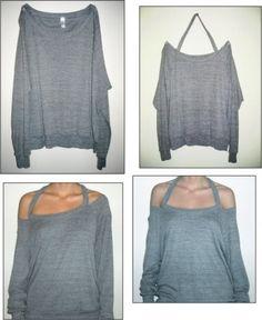 WobiSobi: No Sew Jewelled Halter: T-Shirt DIY