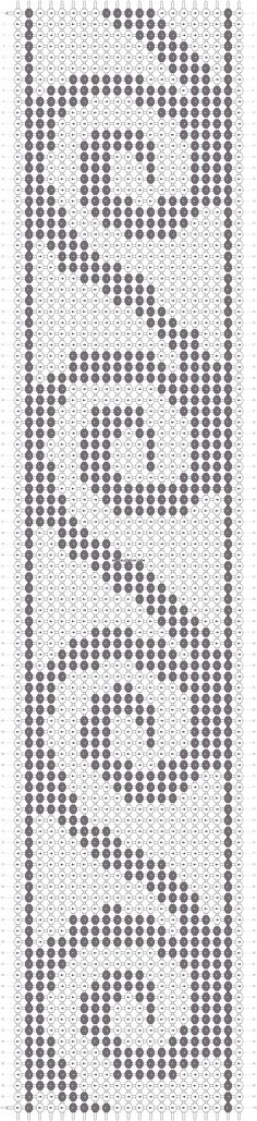 Necklace for Streaks Diy Friendship Bracelets Patterns, Beaded Bracelet Patterns, Bead Loom Patterns, Weaving Patterns, Mosaic Patterns, Maori Patterns, Alpha Patterns, Cross Stitch Designs, Cross Stitch Patterns