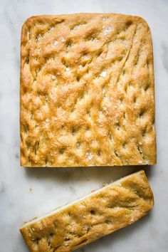 Dimpled, fluffy and slicked with just the right amount of olive oil, this easy focaccia recipe is fool-proof and fantastic.