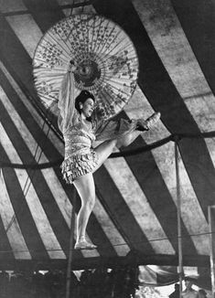 Vintage Circus Tightrope Walker