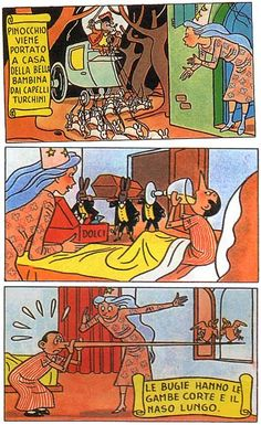 Pinocchio, Comic Books, Comics, Comic Book, Comic, Comic Strips, Comics And Cartoons, Graphic Novels, Graphic Novels