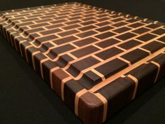 Signature Black Walnut End Grain Cutting Board