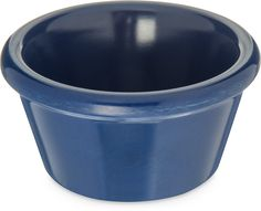 Carlisle 085260 Melamine Smooth Ramekin, 2-Ounce Capacity, Cobalt Blue (Case of 72) *** See this great image @