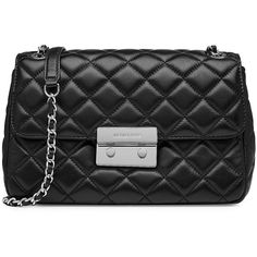 31d5cfbb85a7f Michael Michael Kors Sloan Large Quilted Leather Shoulder Bag (2.375 DKK) ❤  liked on