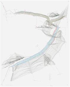 Jorinde Voigt, Nexus (Berlin) VI, 2011  ink, oil crayon, pencil on paper  101 9/16 x 81 7/8