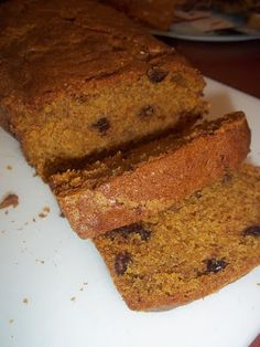 The Daily Smash pumpkin chocolate chip bread