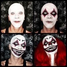 clown halloween creepy scary on Instagram