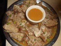 Roti+de+porc+au+rhum+et+a+l+orange Jus D'orange, Ramen, Seafood, Pork, Cas, Ethnic Recipes, Pork Roast Recipes, Good Food, Favorite Recipes