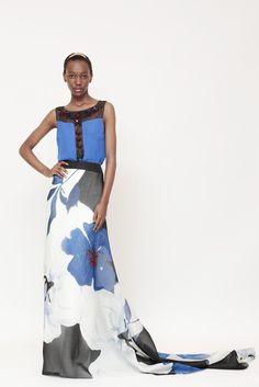 Carolina Herrera Resort 2014 - Slideshow - Runway, Fashion Week, Reviews and Slideshows - WWD.com
