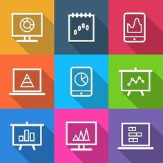 Business Infographic Charts Icons. Business Infographic. $5.00