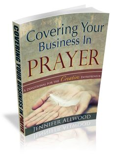 A devotional of prayers for the creative entrepreneur.  This book by faux painter Jennifer Allwood is a compilation of prayers to help you walk thru scenarios of being a small business owner. www.themagicbrushinc.com/devotional