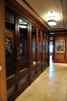 Wine Gallery @ Private Residence  Atlanta, GA by Sptizmiller & Norris, Inc.